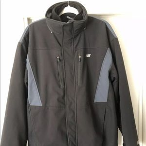 New Balance-2 in 1 Soft Shell Winter Jacket Fleece